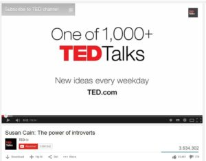 Educational and empowering TED Talks Videos with Susan Cain and Maysoon Zayid